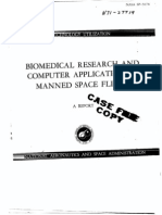 Biomedical Research in Space Flight