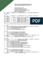 calendario administrativo