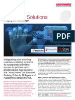 Midshire Business Systems - Biometric Solutions - Fingerprint Technology Brochure
