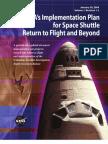 NASA Plan for Space Shuttle