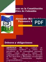 Deberes y obligaciones Constitucion.ppt