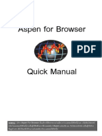 Aspen for Browser_Quick Guide