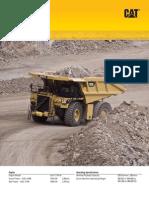Mining Truck 793F - Specalog