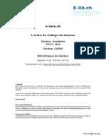 L'ordre du College de Geneve.pdf
