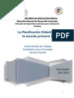 Planificacion Didáctica II 4ª Sesión - Guía