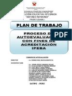 Plan de Autooevaluacion 2013-Ipeba