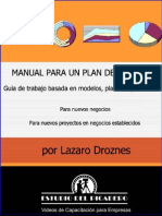 Manual Para Un Plan de Negocios