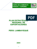Lambayeque Plan Estrategico Perx Lambayeque