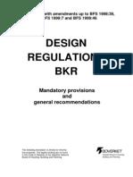 Design Regulations BKR