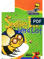 Spelling Bee Book 12-14 Age Group