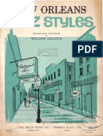 Gillock - New Orleans Jazz Styles