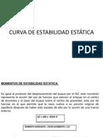 Curva de Estabilidad Estatica