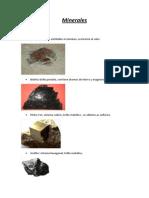 Fotos Minerales