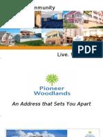 Pioneer Woodlands PowerPoint Presentation