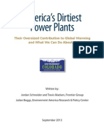 America's Dirtiest Power Plants Report