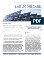 2013 SVTC Solar Scorecard