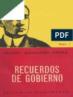 Alessandri Recuerdos