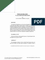 Fernand Braudel y Las Ciencias Sociales