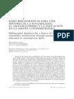 Bases bibliográficas para una historia de la sociabilidad, el asociacionismo y la educación (españa)
