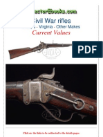 Civil War Rifles Sharps Virginia Other Makes