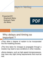 Delay in Verilog