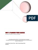 UNIT_4 Planning Your Classes