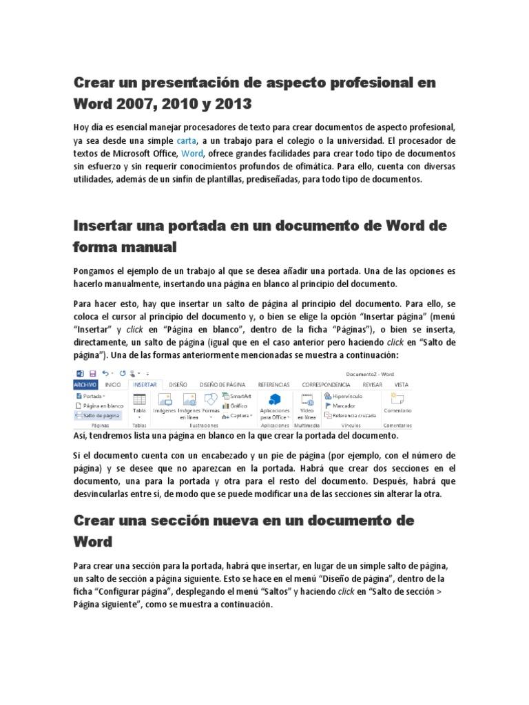 Portadas Para Word 2007 Plantillas picture gallery