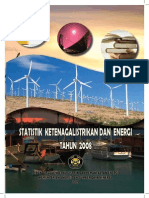Statistik Ketenagalistrikan Dan Energi Tahun 2009