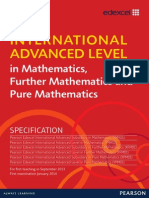 Ial Spec Maths Issue 1 Web