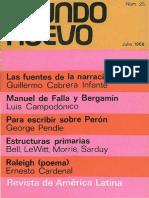 Mundo Nuevo 25 (1968)