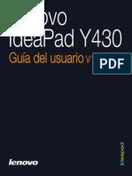 Lenovo IdeaPad Y430 User Guide V1.0(Spanish)_web