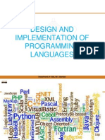 Design and Implementation of Programming Languages Introduction