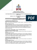 Edital Ufpa 127.2013Anexo I - RequisitosCargos