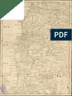 López, Tomás - Mapa de una parte de Chile que comprehende el terreno...