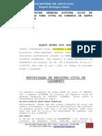 RETIFICAÇÃO DE REGISTRO CIVIL Almir Nunes dos Santos