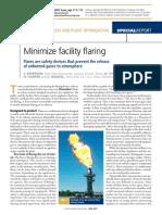 Minimize Facility Flaring