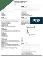 Lista i Optica Geometrica Fisica Experimental IV