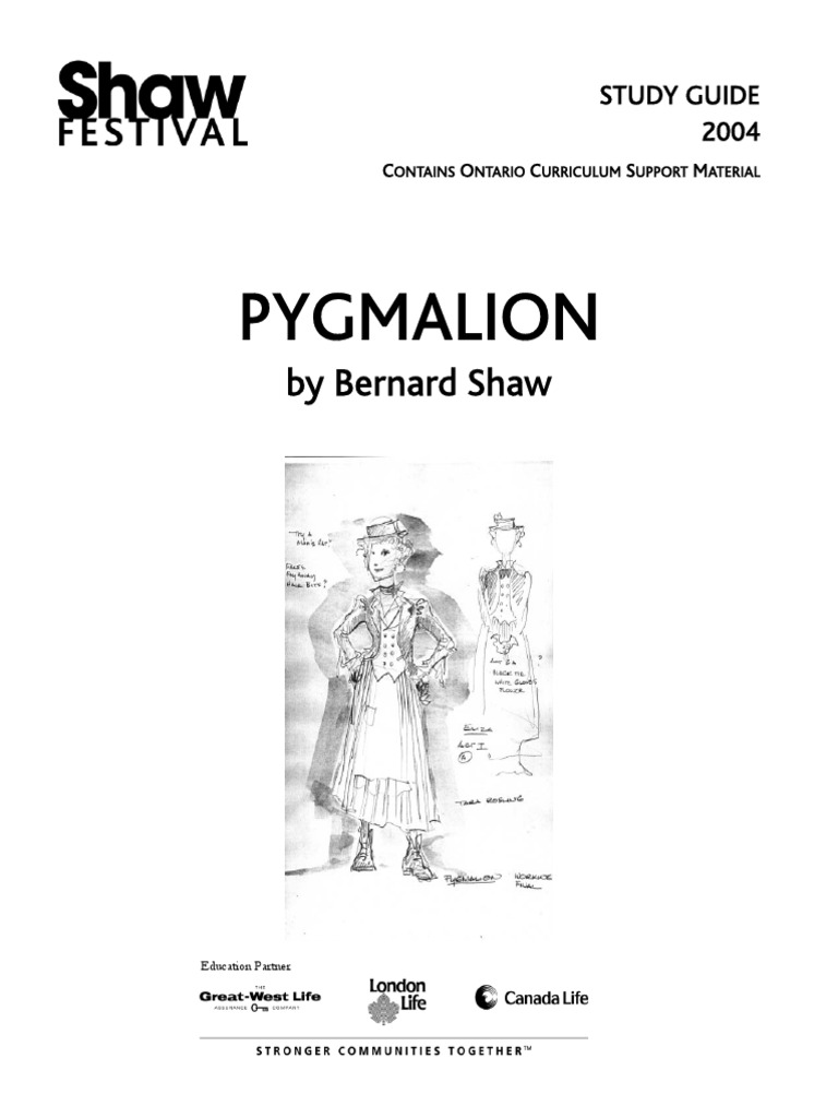 pygmalion themes