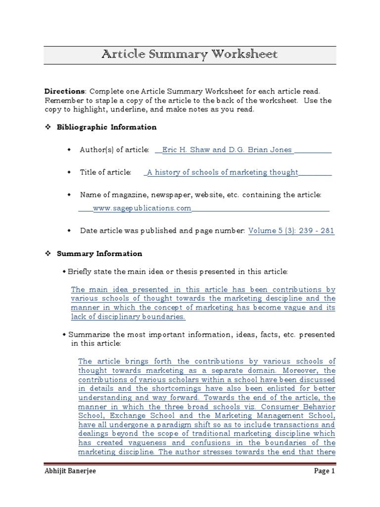 Worksheets Article Summary Worksheet article summary worksheet free worksheets library download and englishlinx com board pinterest