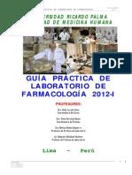 Guia de Practica Laboratorio Farmacologia 2012-i
