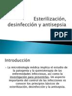 6 Est, Des, Antisepsia Clase 6