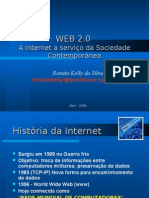 WEB 2.0 x WEB 1.0