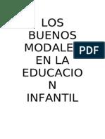 LOS BUENOS MODALES, EDUCACION INFANTIL,A5.doc