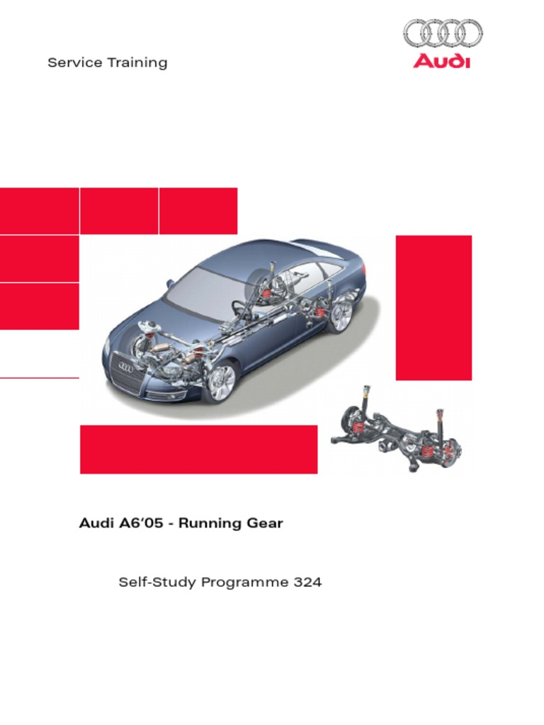 Ssp 324_audi a6 - 05 Running Gear | Transmission (Mechanics) | Anti Lock  Braking System