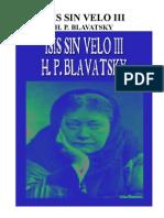 14138146 Blavatsky H P Isis Sin Velo 3