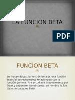 La Funcion Beta