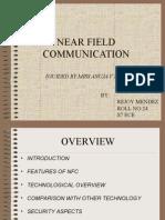 Near Field Communication seminar presentation