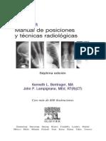 Manual de Posiciones Radiogrficas