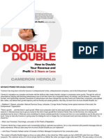 Double Double How to Double Your Revenue and Profit in 3 Years or Less