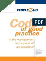 Code of Good Practice Final 2007